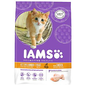 Iams Cat Kitten & Junior 10kg