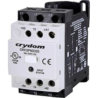SSC 1 pc(s) DRH3P60D20R Crydom Current load: 20 A Switching voltage (max.): 600 Vac