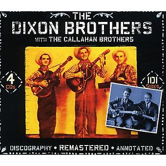 Dixon Brothers with the Callahan Brothers - Dixon Brothers [CD] USA import