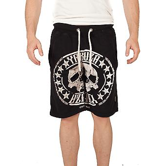 Y. skull label sweat shorts SSB10037