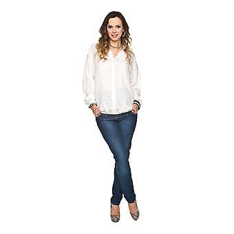 Slim barsel Jeans - mørkeblå
