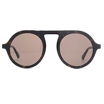 Stella McCartney Falabella Round Sunglasses In Havana