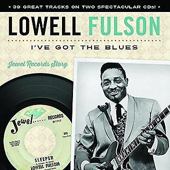 Lowell Fulson - jeg har fået Blues [CD] USA importen
