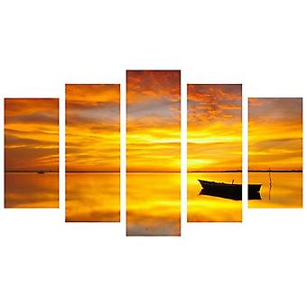Wellindal Pyramid 5 Pieces Canvas Boat View- Hpp082-87