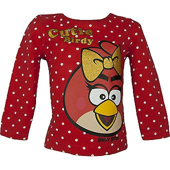 Girls Angry Birds  Long Sleeve T-Shirt