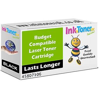 Compatible 45807106 Black Cartridge for OKI B412dn