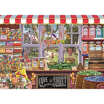 Falcon Deluxe Sidney's Sweet Shoppe Jigsaw Puzzle (1000 Pieces)