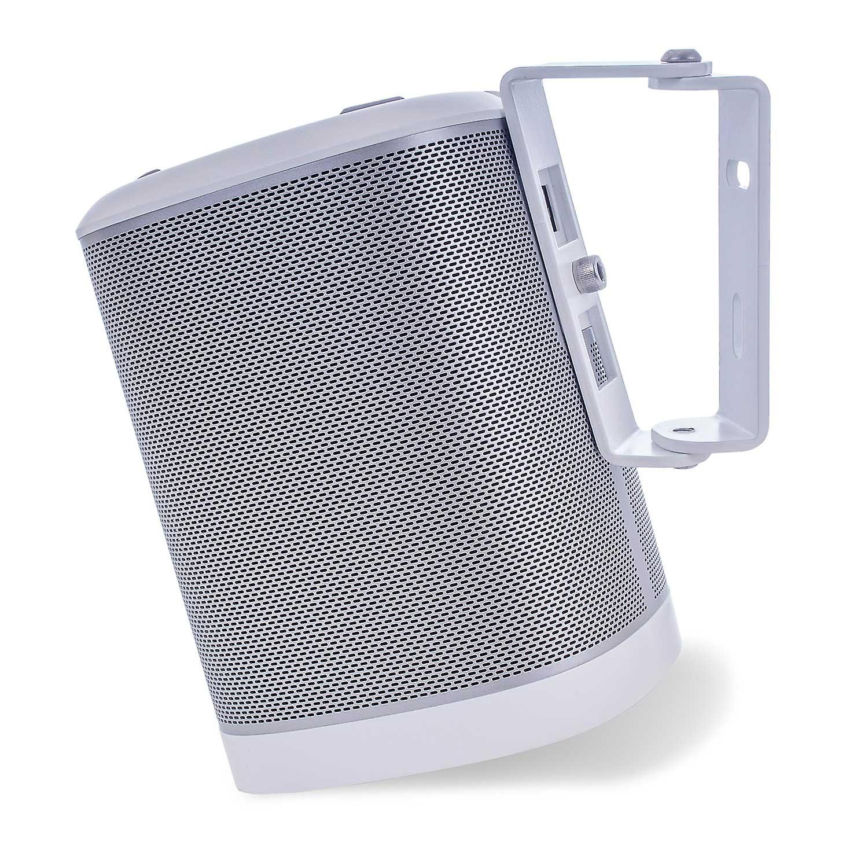 Vebos wall bracket Sonos Play 1 white 15 degrees