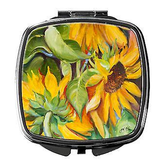 Carolines Treasures  JMK1266SCM Sunflowers Compact Mirror