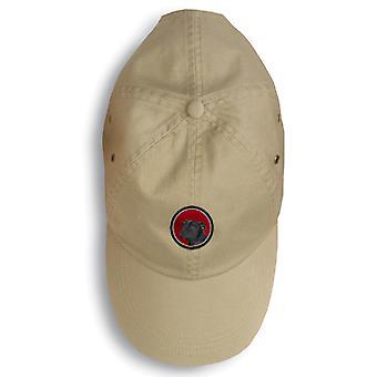 Carolines skarby SS6030-156-KHBK Staffie Baseball Cap SS6030-156