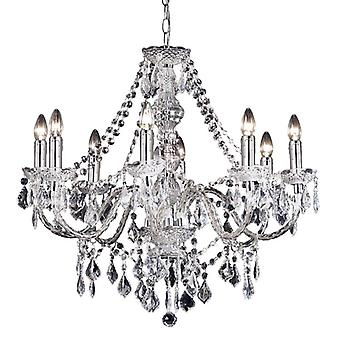 Clarence Indoor Ceiling Pendant - Endon 308-8cl