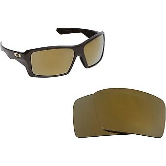 Best SEEK Replacement Lenses for Oakley EYEPATCH 1 24K Gold Mirror