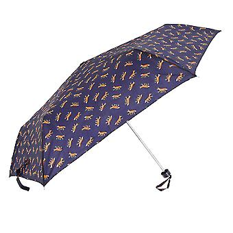 Drizzles Womens/Ladies Fox/Dog Animal Patterned Supermini Umbrella