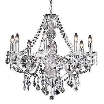 Clarence 8 Light Pendant 60W