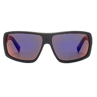 Dragon Double DOS Polar 1 Sunglasses In Matte Black Plasma Polarised