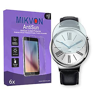Huawei Watch Screen Protector - Mikvon AntiSun (Retail Package with accessories)