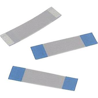 Ribbon cable Contact spacing: 1 mm 8 x 0.00099 mm² Grey, Blue