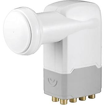 Octo LNB Goobay Universal No. of participants: 8 LNB feed size: 40 mm gold-plated terminals, with switch