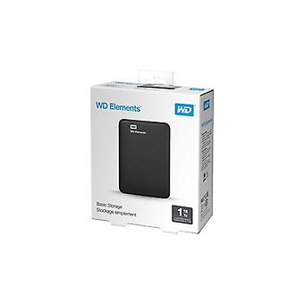 WD Elements ext portable HDD USB 3.0 1 TB