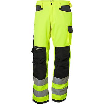 Helly Hansen Mens Alna Durable Reinforced Hi-Vis Workwear Trousers