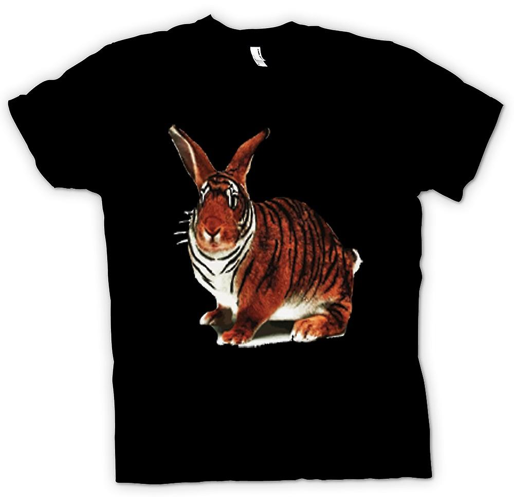 Kids T-shirt - Tiger Rabbit Pop Art Design