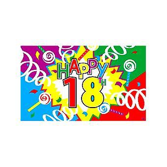 18. Geburtstag-Flagge