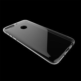 Voor HTC nieuw verlangen 12 plus Silikoncase transparante ultra dunne behuizing tas cover
