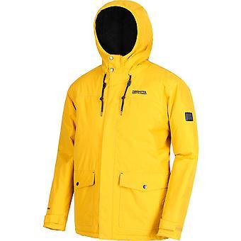 Regatta Mens Syrus Hydrafort Durable Waterproof Hooded Coat Jacket