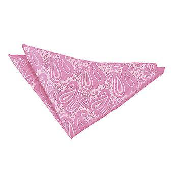 Baby Pink Paisley Einstecktuch