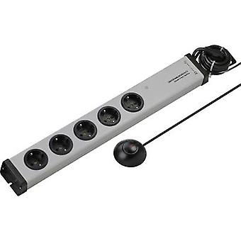 Ehmann 0206c00052381 Surge protection socket strip 5x Grey PG connector
