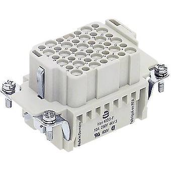 Harting 09 16 042 3101 Han® 42DD-F-c Industrial Plug Connector Han DD Series - Inserts