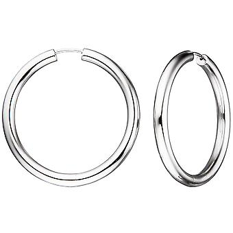 Hoops around 925 Sterling Silver earrings Silver earrings kitchen