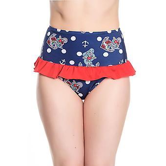 Hell Bunny St Tropez Bikini Bottoms S