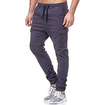 Tazzio mode hommes jogging pantalon anthracite