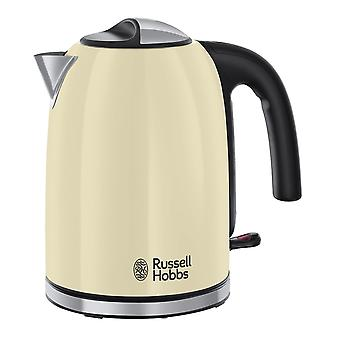 Russell Hobbs 20415 Colour Plus Cream Cordless Electric Kettle