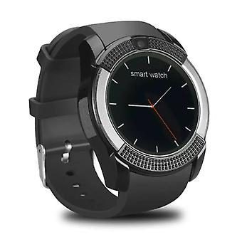 Stuff Certified ® Original V8 SmartWatch HD Smartphone Watch OLED iOS Android Black