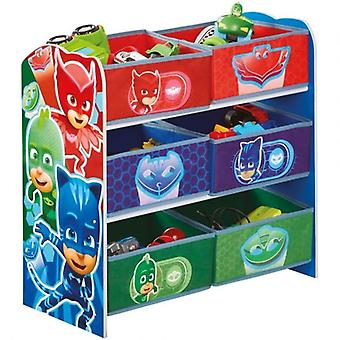 Shelf Load Plans Toy Store PjMasks Superpigiamini