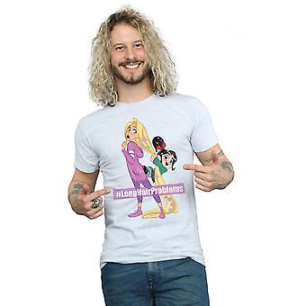 Disney Men's Wreck It Ralph 2 Rapunzel And Vanellope T-Shirt