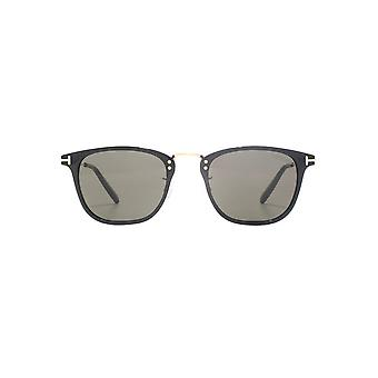 Tom Ford Beau Sunglasses In Shiny Black