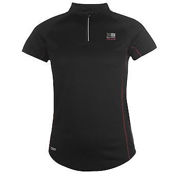 Karrimor Womens X Running T Shirt Tee Top Breathable Chin Guard Short Sleeve