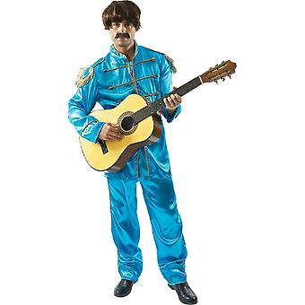 Lonely Hearts Band Fancy Dress Costume - Blue