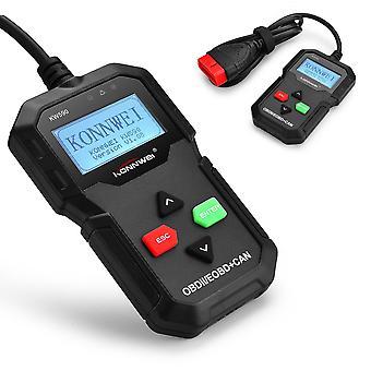 KONNWEI KW590 OBD2 lector de código de avería de diagnóstico de coche