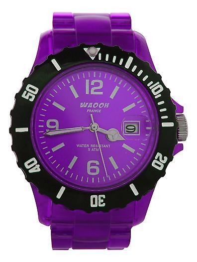 Waooh - Watch VENICE 38 Special Bezel Black