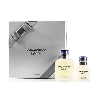 Dolce & Gabbana Light Blue Pour Homme 2 Piece Gift Set
