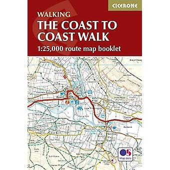 The Coast to Coast Map Booklet - 9781852849269 Book