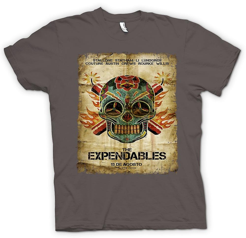 Womens T-shirt-die Expendables - B-Movie - Poster
