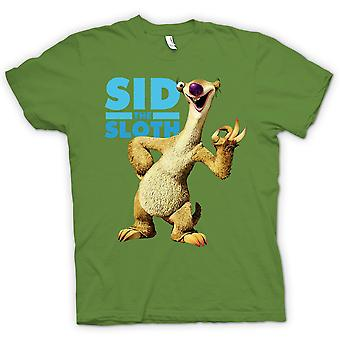 Mens T-shirt - Ice Age - Sid das Faultier