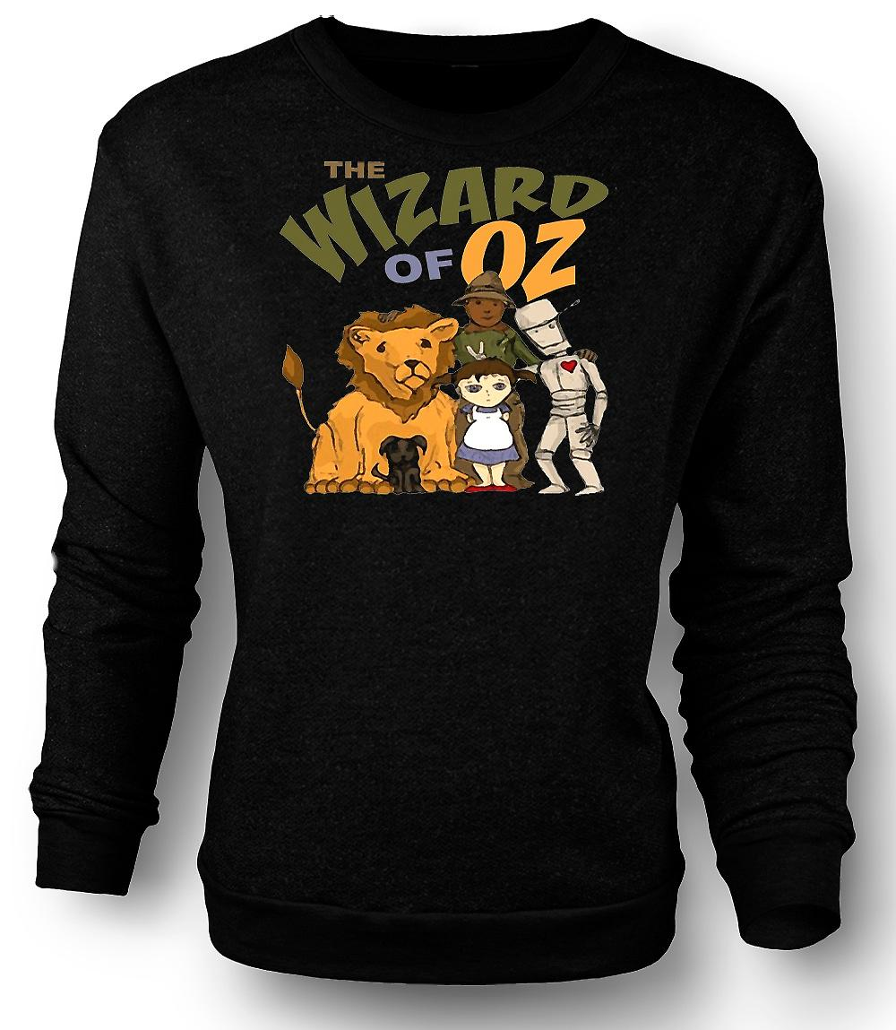 Mens Sweatshirt Wizard Of Oz Dorothy Tin Man