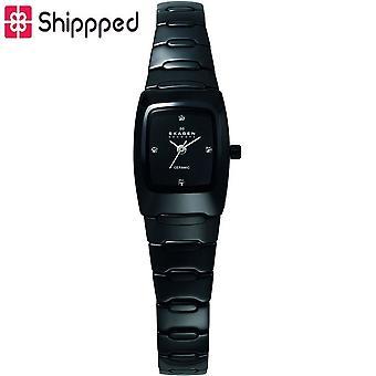 Skagen Ladies' Black Ceramic Watch 814XSBXC1