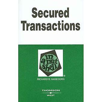 Secured Transactions in a Nutshell (In a Nutshell (West Publishing))